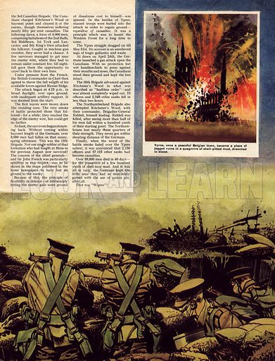 Battle of Ypres, picture, image, illustration