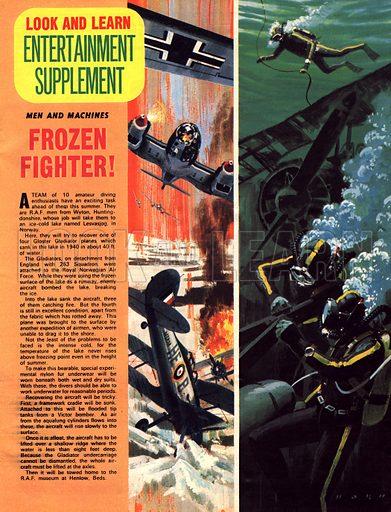 Men and Machines: Frozen Fighter!.