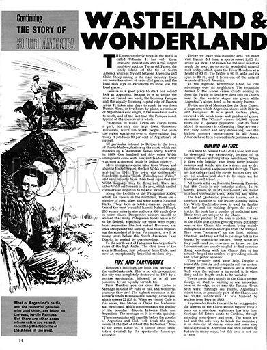 The Story of South America: Wasteland & Wonderland.