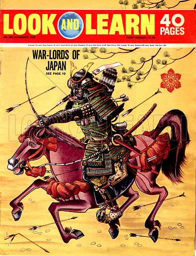The War-Lords of Japan.