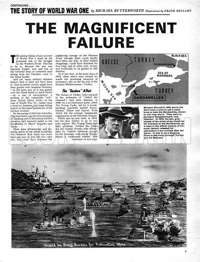 The Story of World War One: The Magnificent Failure.