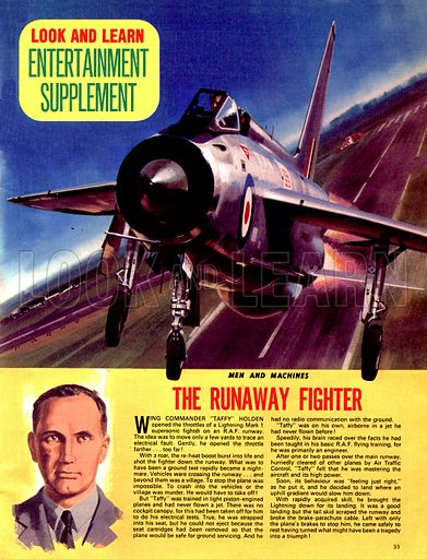 Men and Machines: The Runaway Fighter.