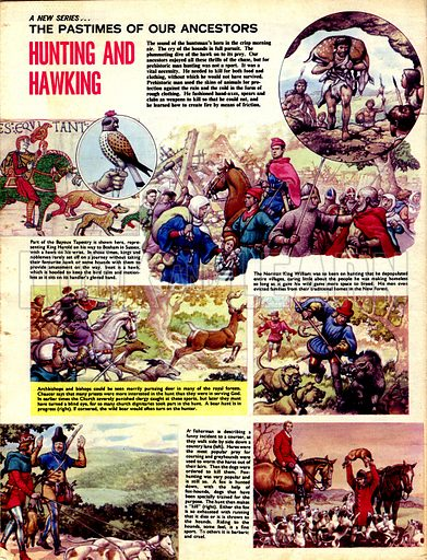 The Pastimes of Our Ancestors: Hunting and Hawking.