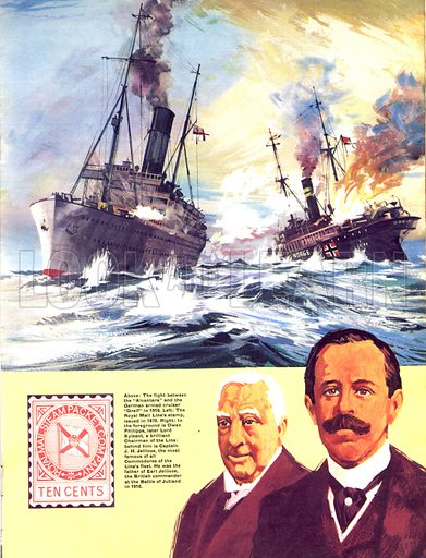 They Sailed the Seven Seas: Great Ships and Great Men (The Royal Mail Line).