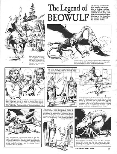 The Legend of Beowulf.