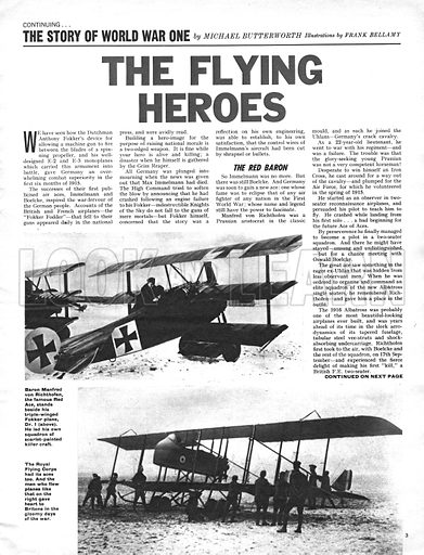 The Story of World War One: The Flying Heroes.