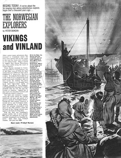 The Norwegian Explorers: Vikings and Vinland.