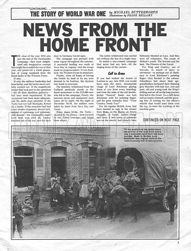 The Story of World War One: News from the Home Front.