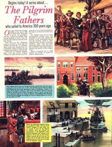 The Pilgrim Fathers.