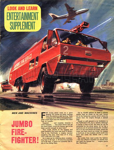Men and Machines: Jumbo Fire-Fighter!.