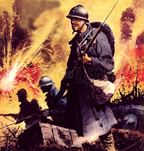 The Story of World War One: No Retreat -- The Battle Call at Verdun.