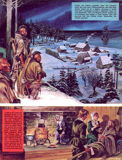 The Pilgrim Fathers: A Home in the Wilderness.