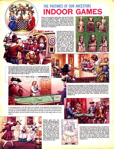 The Pastimes of Our Ancestors: Indoor Games.