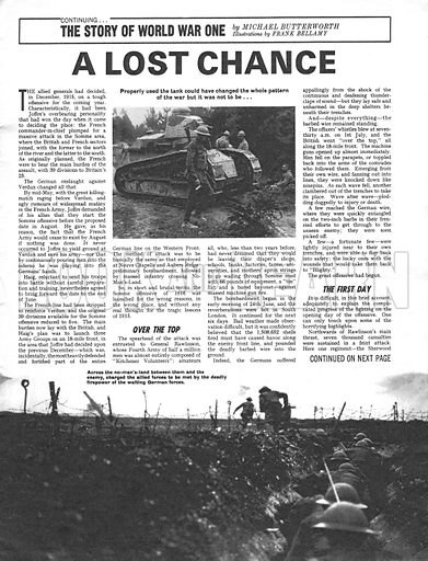 The Story of World War One: A Lost Chance.
