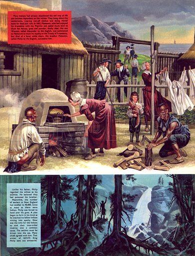 The Pilgrim Fathers: Welcome, Englishmen!.