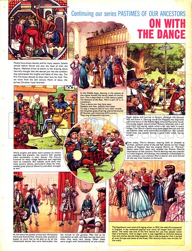 The Pastimes of Our Ancestors: On with the Dance.