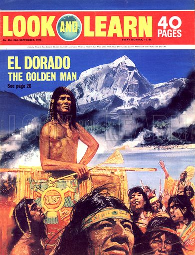 The Treasure-Hunters: El Dorado, The Golden Man.