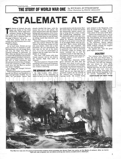The Story of World War One: Stalemate at Sea.