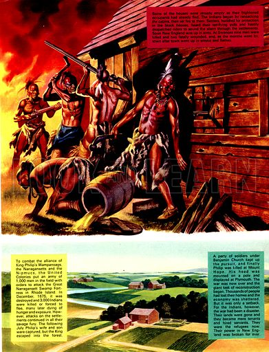 The Pilgrim Fathers: Massacre -- and Vengeance.