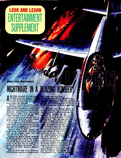 Men and Machines: Nightmare in a Blazing Bomber!.