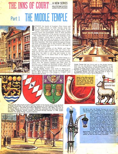 The Inns of Court: The Middle Temple.