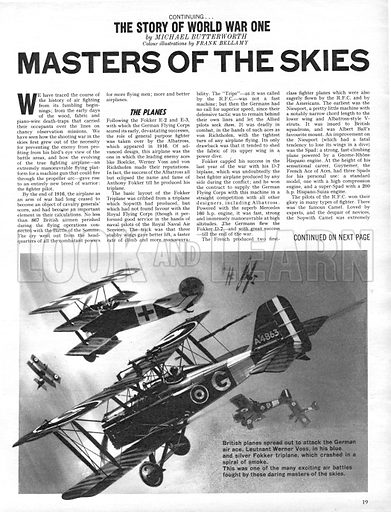 The Story of World War One: Masters of the Skies.