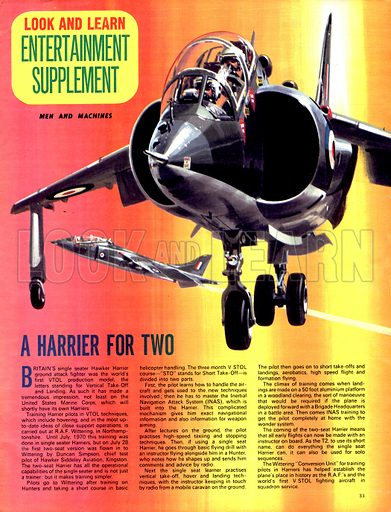 Men and Machines: A Harrier for Two.
