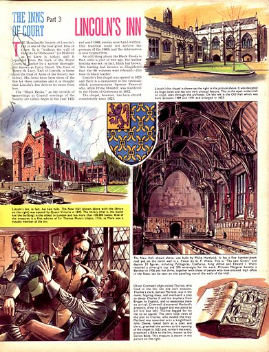 The Inns of Court: Lincoln's Inn.