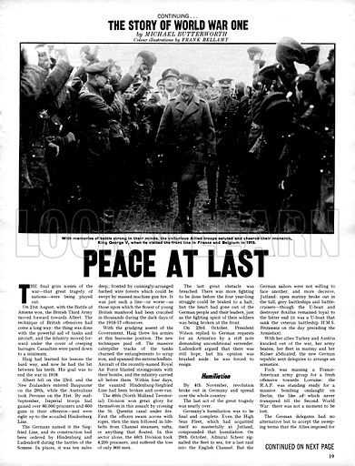 The Story of World War One: Peace at Last.