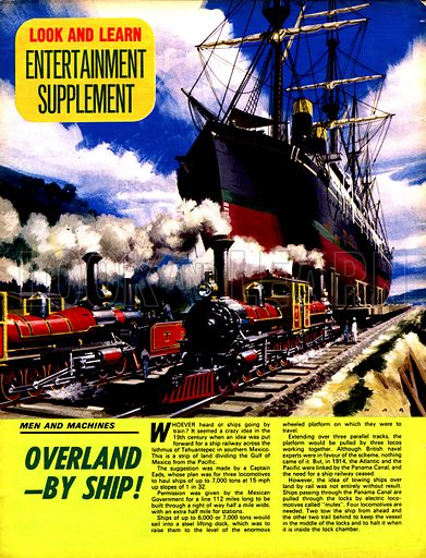 Men and Machines: Overland – by Ship!.