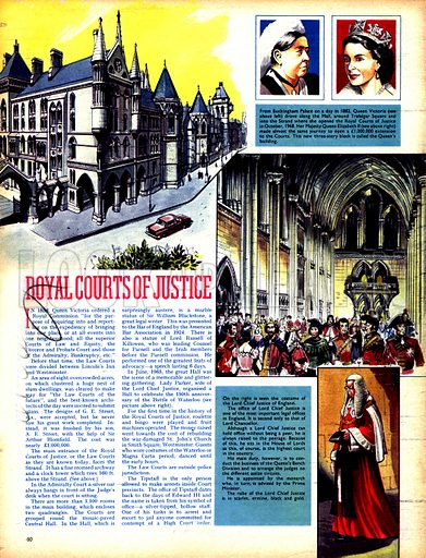 The Inns of Court: Royal Courts of Justice.