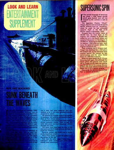 Men and Machines: Sunk Beneath the Waves plus Supersonic Spin.