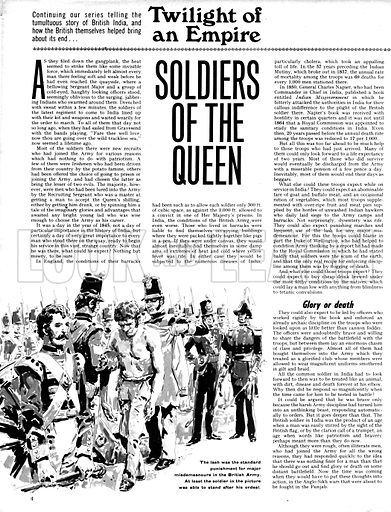 Twilight of the  Empire: Soldiers of the Queen.