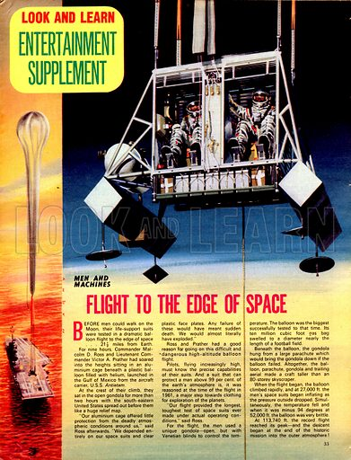 Men and Machines: Flight to the Edge of Space.