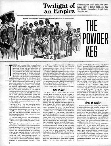 Twilight of an Empire: The Powder Keg.