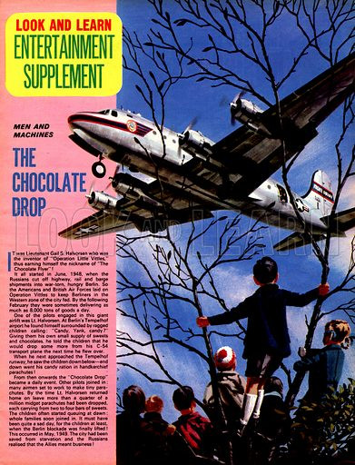 Men and Machines: The Chocolate Drop.