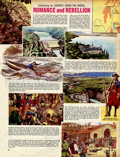A Journey Down the Rhone: Romance and Rebellion.