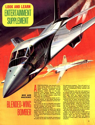 Men and Machines: Blended-Wing Bomber.