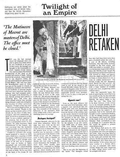 Twilight of an Empire: Delhi Retaken.