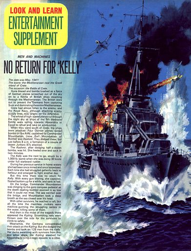 Men and Machines: No Return for 'Kelly'.