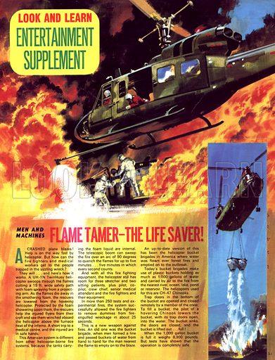 Men and Machines: Flame Tamer -- The Life Saver.