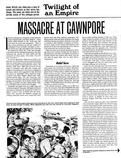 Twilight of an Empire: Massacre at Cawnpore.