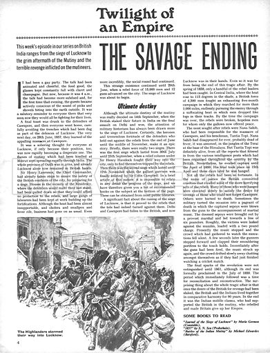 Twilight of an Empire: The Savage Ending.