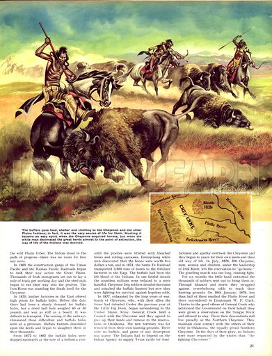 When the Red Man Rode: The Cheyenne.