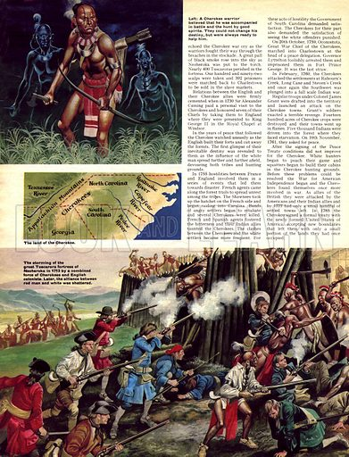 When the Red Man Rode: The Cherokee.