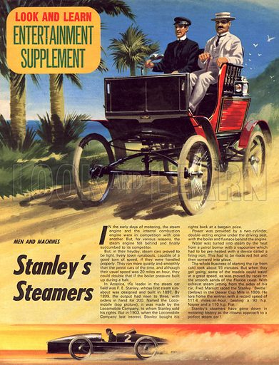Men and Machines: Stanley's Steamers.