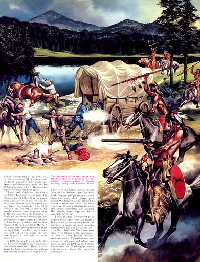 When the Red Man Rode: The Nez Perce.