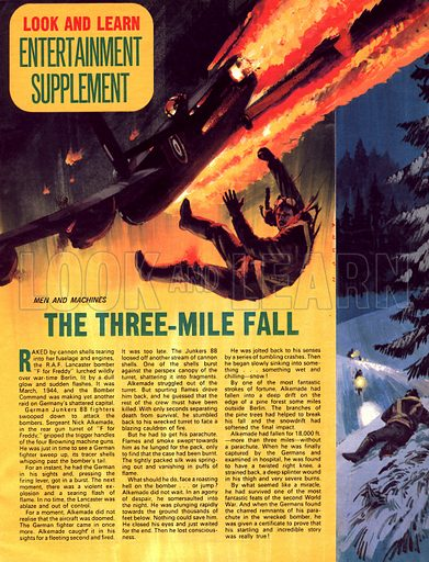 Men and Machines: The Three-Mile Fall.
