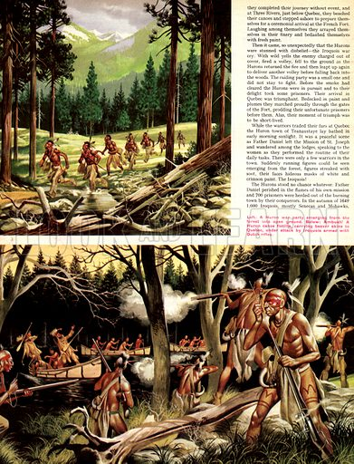 When the Red Man Rode: The Hurons.