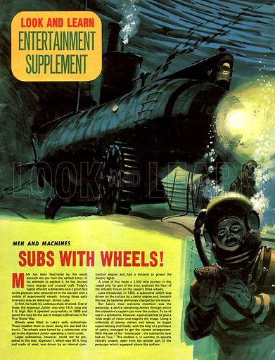Men and Machines: Subs With Wheels.